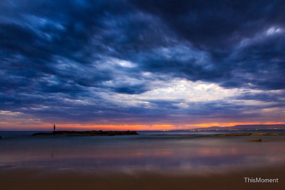 Dusk, Port Kembla Beach by ThisMoment