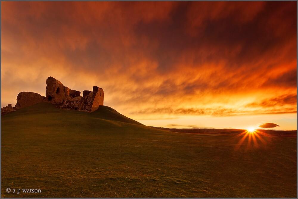 Duffus Castle by Andrew Watson