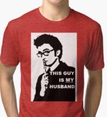 My Husband Tri-blend T-Shirt