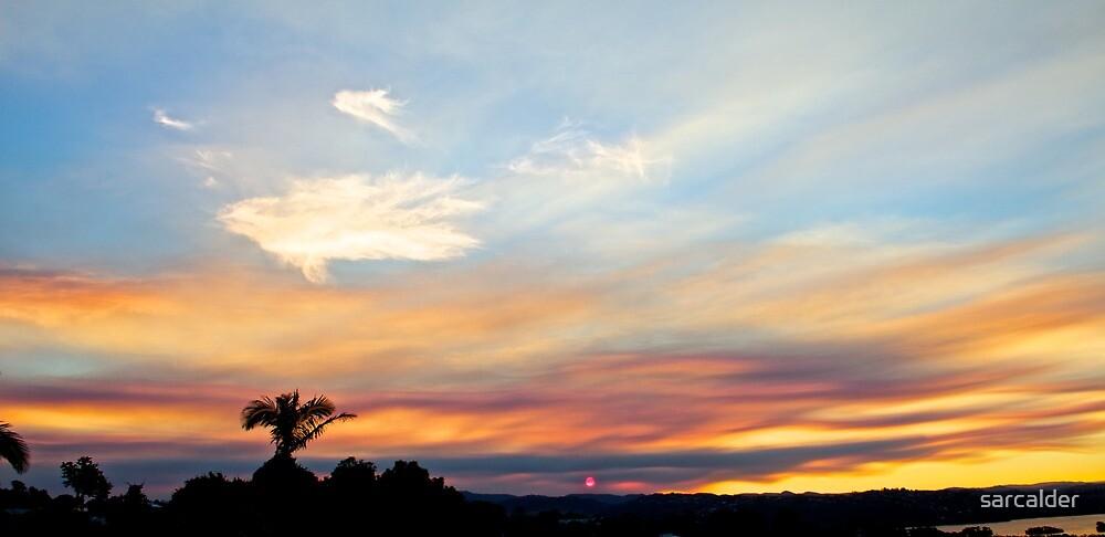 Red Sunset by sarcalder