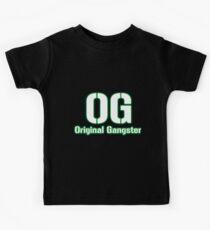 Original Gangster Text Kids Clothes