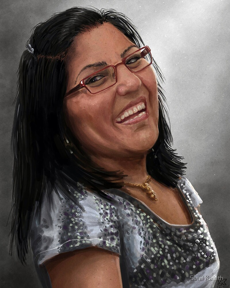 Portrait for my Auntie by Sunil Kainth