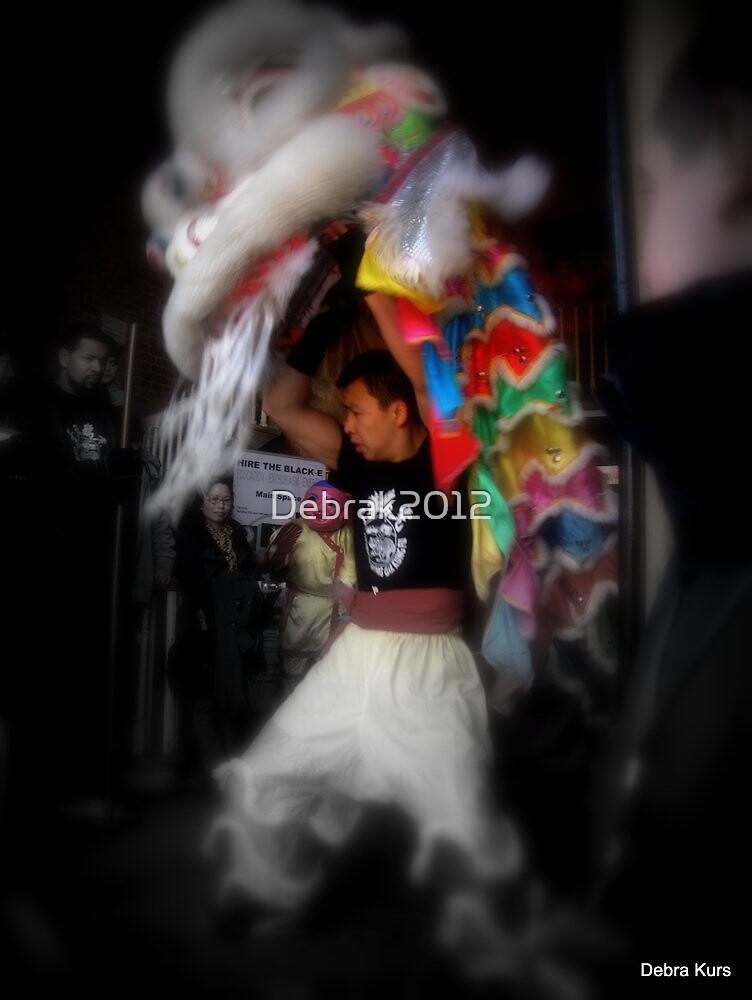 Dragon dancer  by Debrak2012