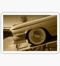 Cadillac Wheel  Sticker