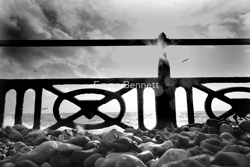 Brighton beach by Emma Bennett