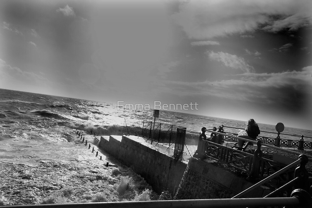 Stormy Brighton by Emma Bennett
