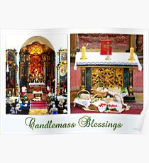 Candlemass Blessings Poster