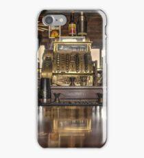 Saloon Register  iPhone Case/Skin