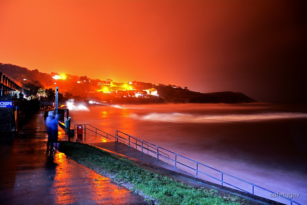 Langland Bay Spring Tide Soup by safetygav