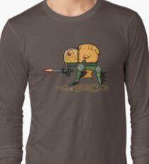 Maximus: The Fish Mech-Warrior Long Sleeve T-Shirt