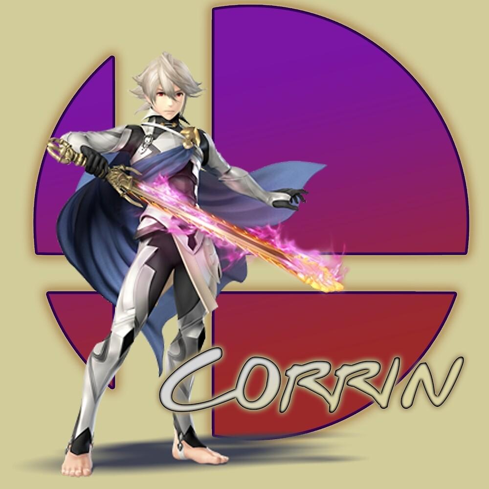 Male Corrin, Smash Bros. 4 by ciccioDeeamci