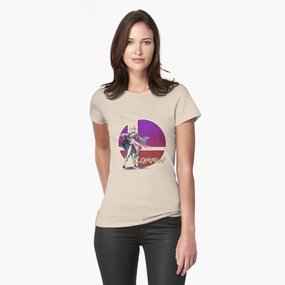 Männlich Corrin, Smash Bros. 4 Tailliertes T-Shirt