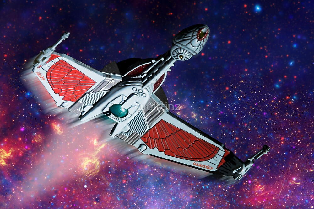 The Klingons are coming, The Klingons are coming by wolftinz