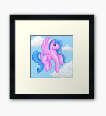 My Little Ponies Firefly Framed Print