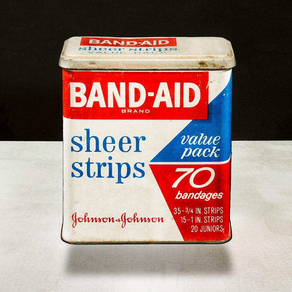 Band-Aid Tin by YoPedro