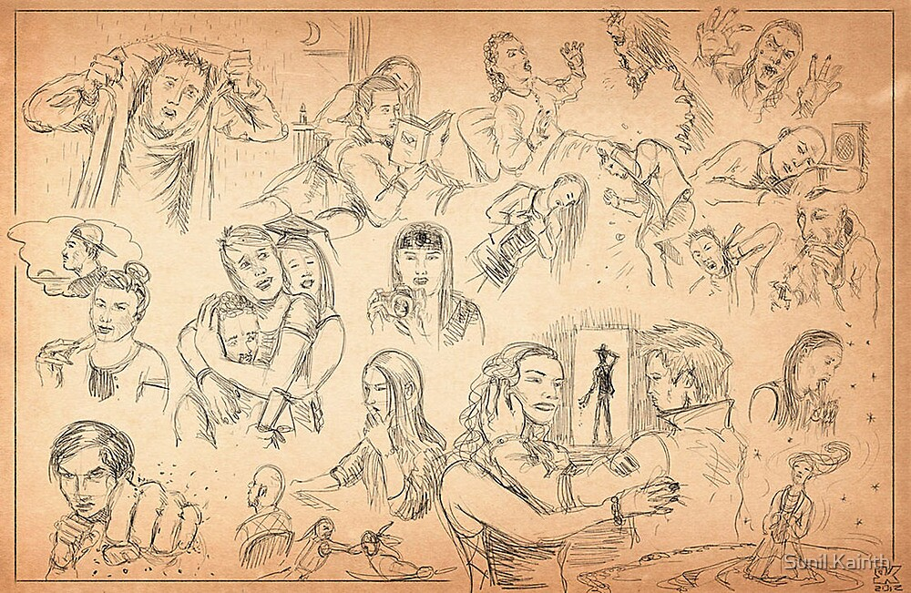Sunday sketching by Sunil Kainth