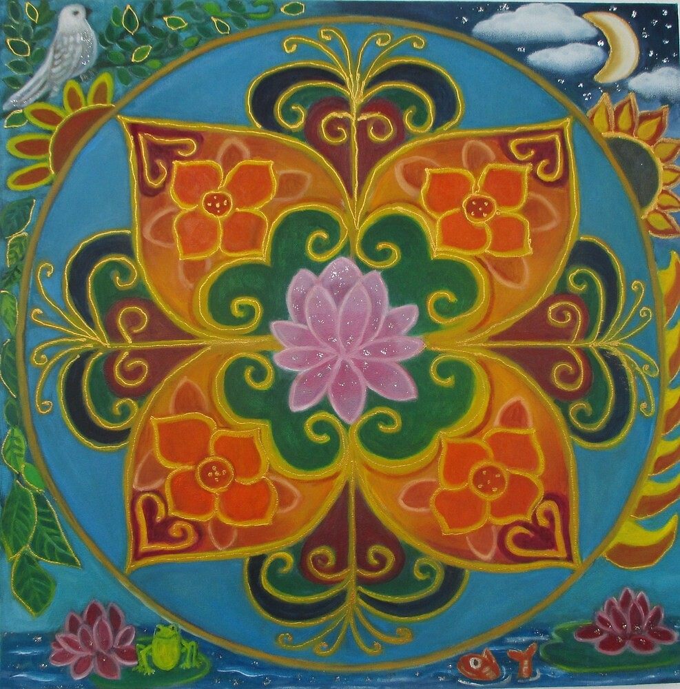 Feng shui mandala. by gloria47