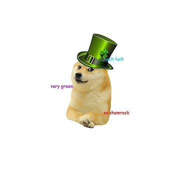St. Patrick's Doge by thatonelass