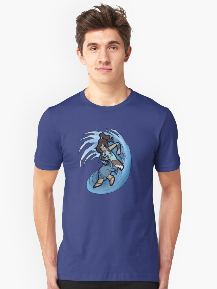 Korra the legend Unisex T-Shirt Front