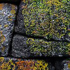 Mousehole Stone Wall Composition by Jono Hewitt