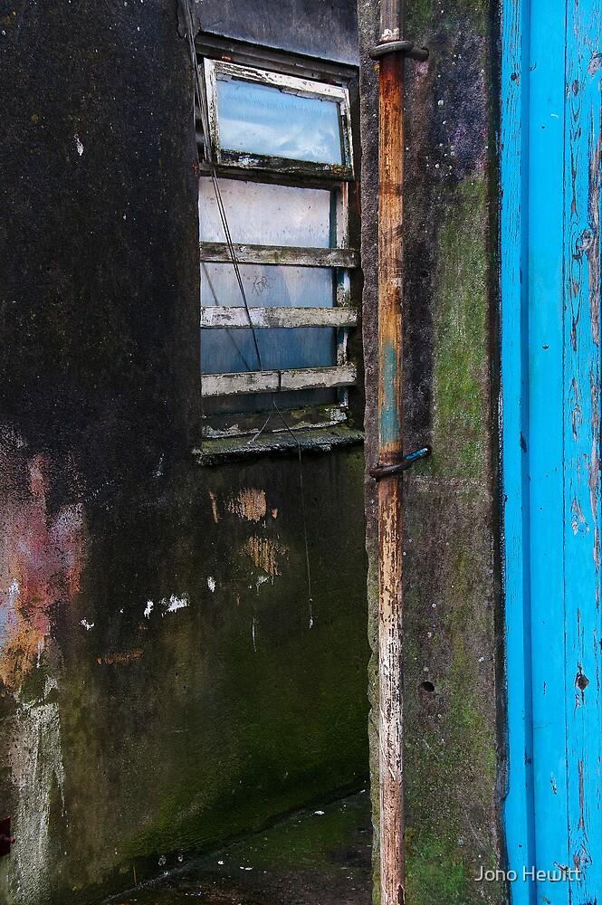 Newlyn Harbour Walls by Jono Hewitt