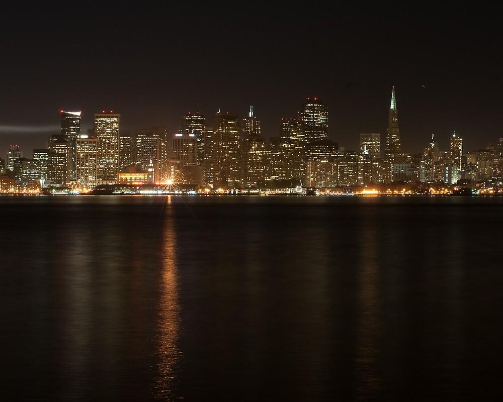 San Francisco Skyline at Night by barcherphoto