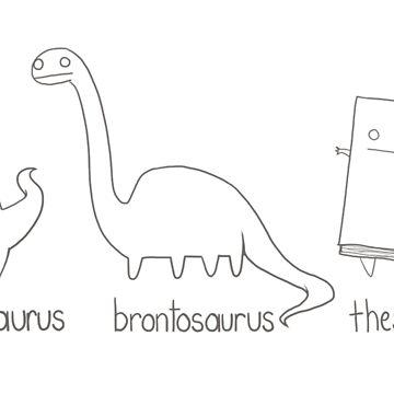 Dinosaur Parade by cheezup