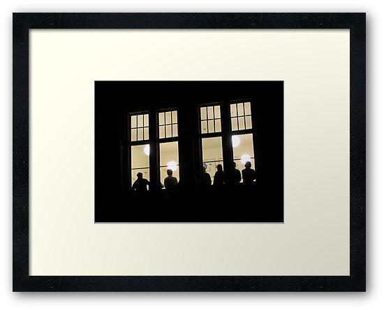 Window by WERNER SCHUMANN