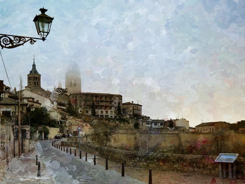 Painting Segovia by rentedochan