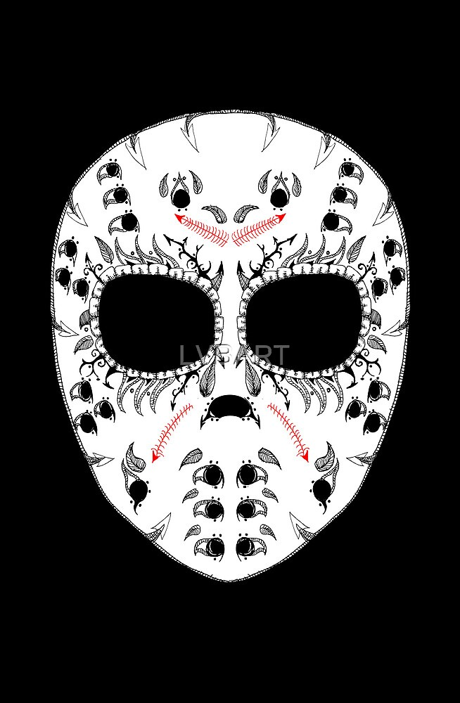Viernes The 13Th Sugar Skull by LVBART