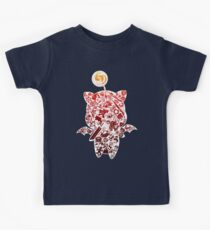 Final Fantasy Moogle-verse (red) Kids Clothes
