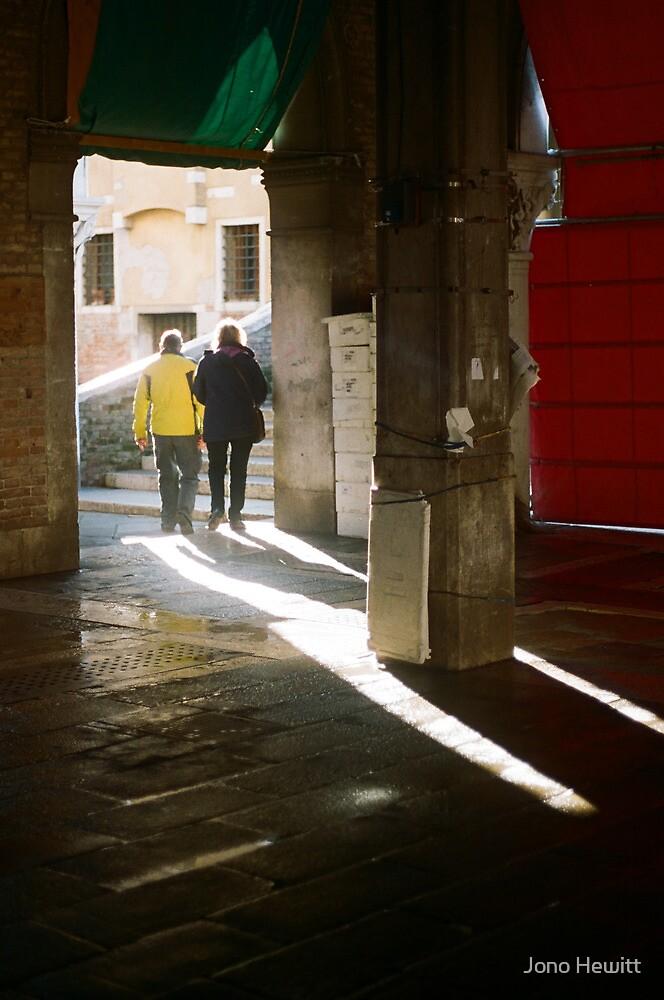 Empty Market Shadows by Jono Hewitt