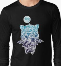 Camiseta de manga larga Moogle-verse (azul)