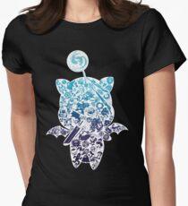 Moogle-verse (blue) Womens Fitted T-Shirt