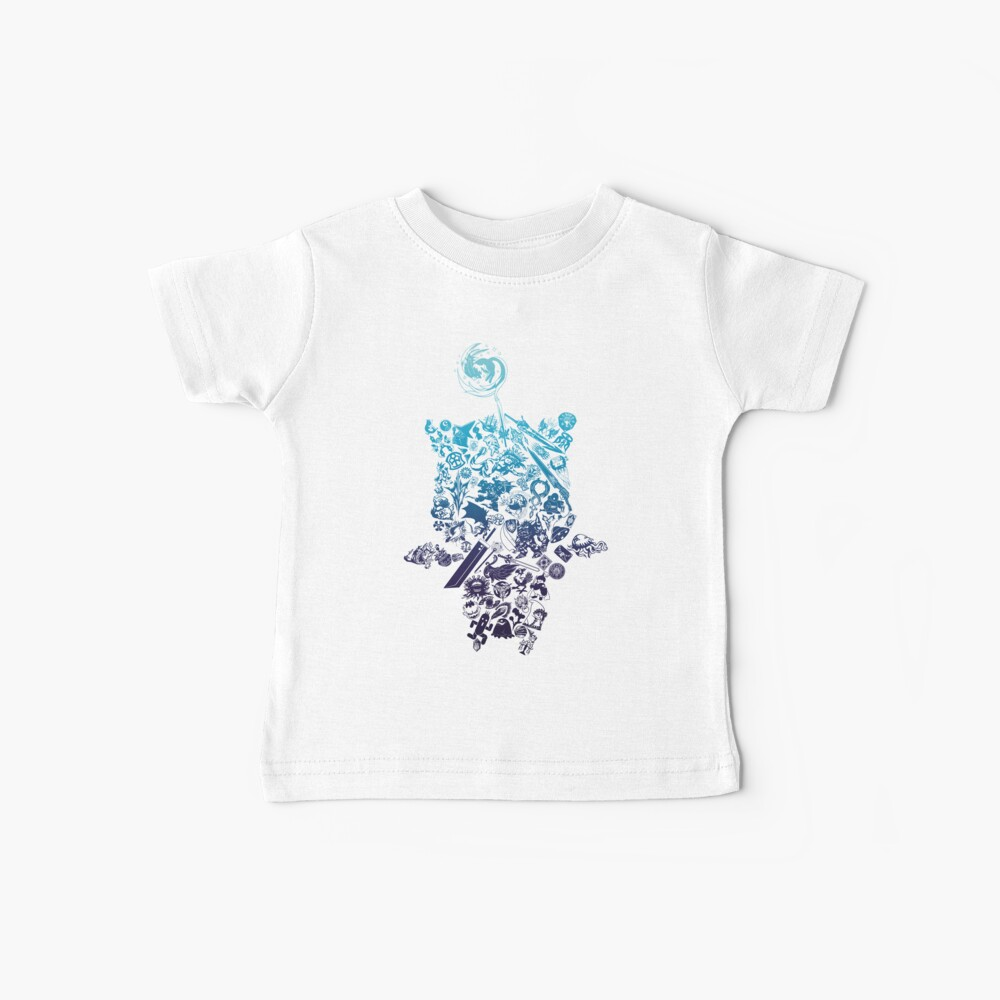 Moogle-verse (blue) Baby T-Shirt