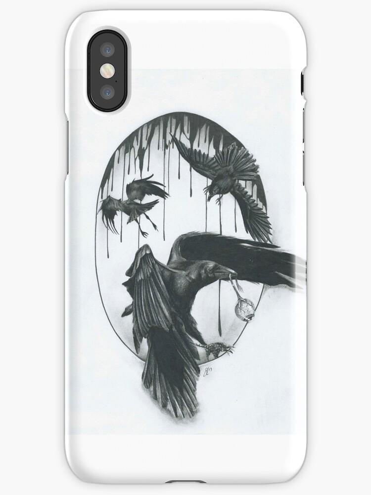 crows by Odditieart
