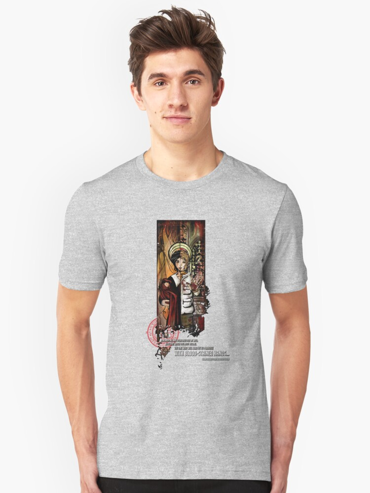 Alessa - Colored Unisex T-Shirt Front