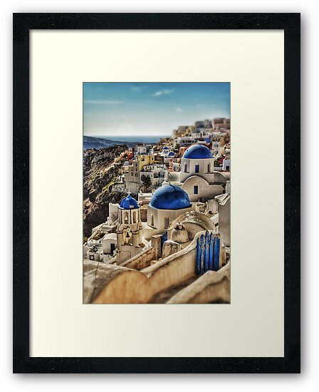 Oia village, Santorini, Greece by Scott Anderson