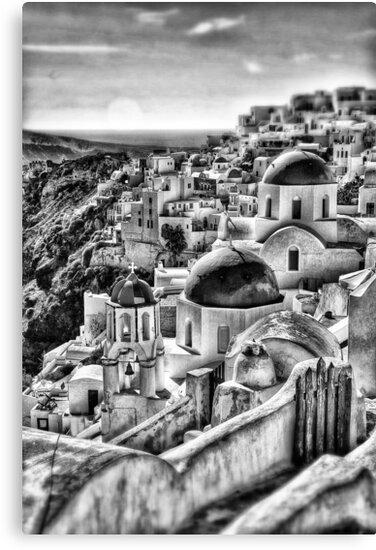 Oia village, Santorini, Greece by Scott Anderson