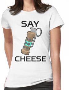 CSGO Flashbang Say Cheese Womens Fitted T-Shirt