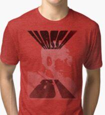 Hossa Distressed Tri-blend T-Shirt
