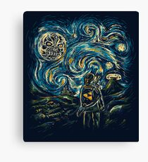 Hylian Night Canvas Print