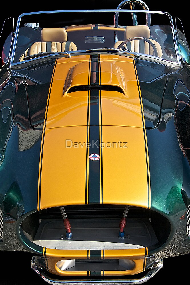 Shelby Cobra 'By a Nose'! by DaveKoontz