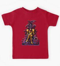 Metroid - The Huntress' Throne -Gaming Kids Tee
