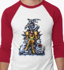 Metroid - The Huntress' Throne -Gaming Men's Baseball ¾ T-Shirt