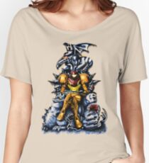 Metroid - The Huntress' Throne -Gaming Women's Relaxed Fit T-Shirt