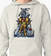 Metroid - The Huntress' Throne -Gaming Pullover Hoodie