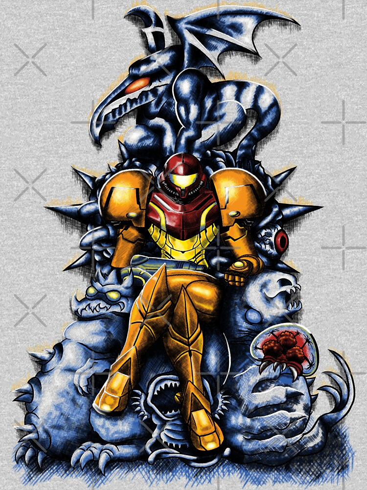 Metroid - The Huntress' Throne -Gaming by seviesphere