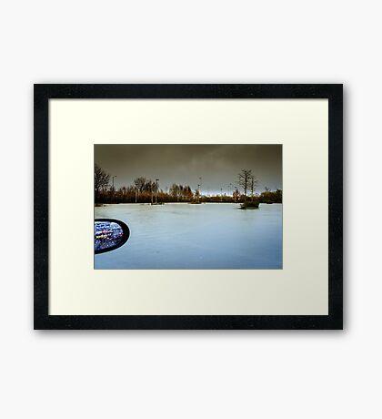 Flooded Framed Print