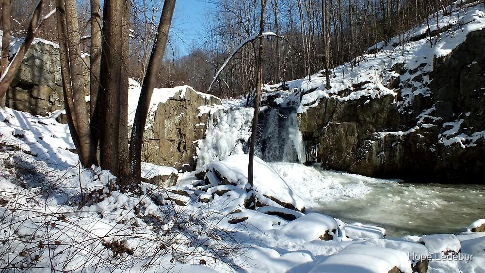 Winter Wonderland_Kilgore Falls  by Hope Ledebur